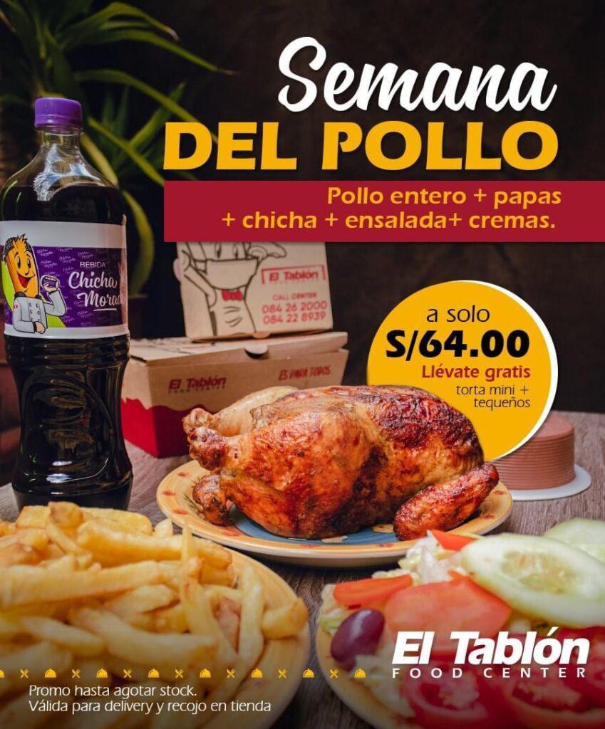 El Tablon Promo Julio
