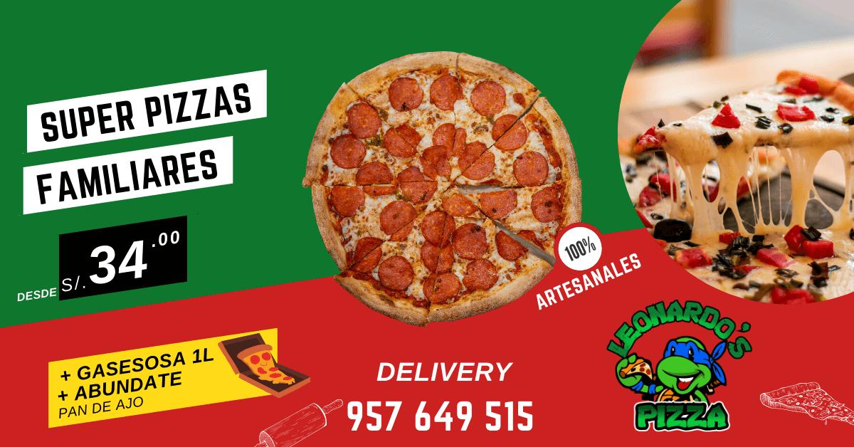Leonardos Pizza Promo 3